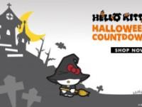 Pisica alba Hello Kitty aduce noroc şi reduceri de HalloWeen