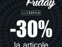 De Black Friday-ul american, genţile italiene Carpisa au preţuri româneşti!