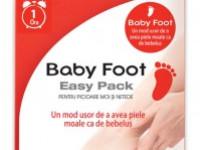 Baby Foot Easy Pack pentru picioare fine ca de bebeluş