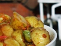 Salata de cartofi cu tarhon in sos de mustar