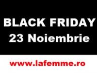 Nu rata Vinerea Neagră a reducerilor în magazinul online La Femme