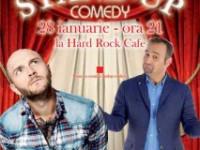 Stand up comedy cu vedete TV: BORDEA & VĂNCICĂ