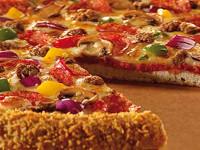 Crunchy Crust, un nou blat inovator la Pizza Hut