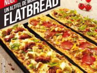 Încearcă un altfel de moment delicios: Flatbread pizza de la Pizza Hut