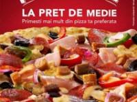 Distracţia creşte cu noua ofertă Pizza Hut Delivery – pizza mare la preţ de medie