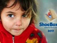 Ediţia aniversară cu numărul 10 a proiectului ShoeBox – Cadoul din cutia de pantofi