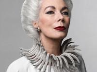 Fotomodelul senior Rodica Paléologue, care a cucerit lumea modei pariziene la 60 de ani, vine în România